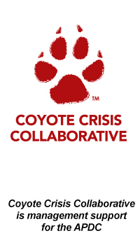 Coyote Crisis Collaborative Logo, APDC